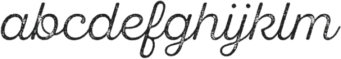 SantElia Rough Light Two otf (300) Font LOWERCASE