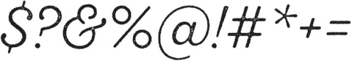 SantElia Rough Light otf (300) Font OTHER CHARS