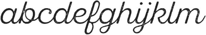 SantElia Rough Light otf (300) Font LOWERCASE