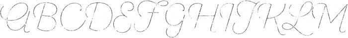 SantElia Rough Line Thr otf (400) Font UPPERCASE