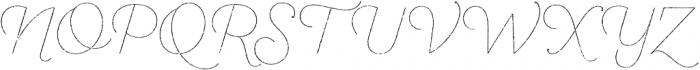 SantElia Rough Line Two otf (400) Font UPPERCASE