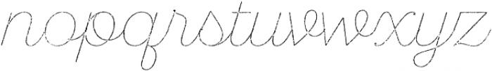 SantElia Rough Line Two otf (400) Font LOWERCASE