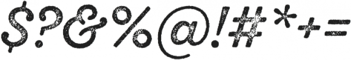 SantElia Rough Regular Thr otf (400) Font OTHER CHARS