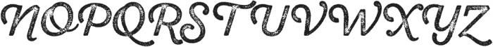 SantElia Rough Regular Thr otf (400) Font UPPERCASE