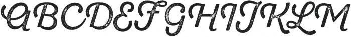 SantElia Rough Regular Two otf (400) Font UPPERCASE