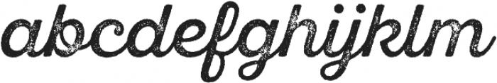 SantElia Rough Regular Two otf (400) Font LOWERCASE
