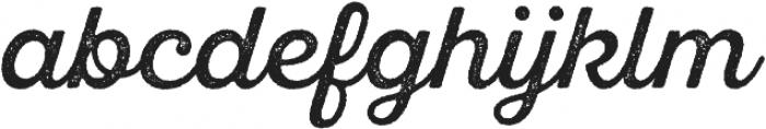 SantElia Rough Regular otf (400) Font LOWERCASE
