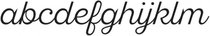 SantElia Script Alt Light otf (300) Font LOWERCASE