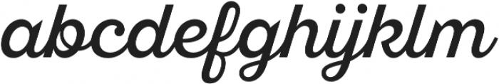 SantElia Script Alt Regular otf (400) Font LOWERCASE