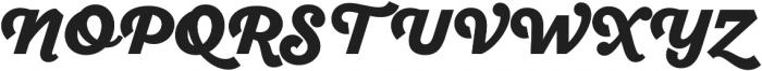 SantElia Script Black otf (900) Font UPPERCASE