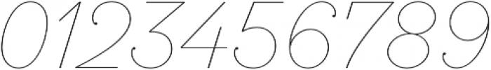 SantElia Script Line otf (400) Font OTHER CHARS