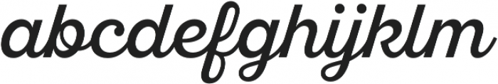 SantElia Script Regular otf (400) Font LOWERCASE