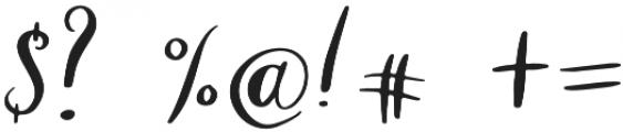 Santa Barbara Font Regular otf (400) Font OTHER CHARS