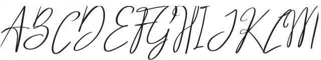 Santa Barbara Font Regular otf (400) Font UPPERCASE