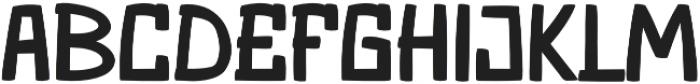 Santa Monica Regular otf (400) Font LOWERCASE