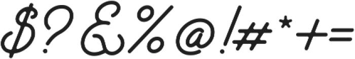 Santana Script otf (400) Font OTHER CHARS