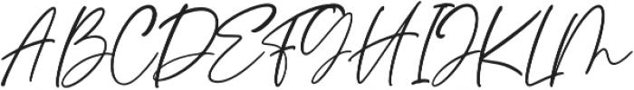Santana otf (400) Font UPPERCASE