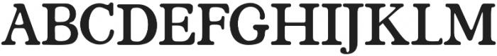 Santerios Serif otf (400) Font UPPERCASE