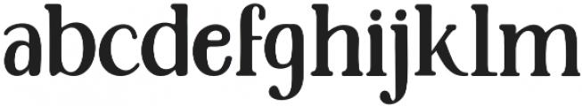 Santerios Serif otf (400) Font LOWERCASE