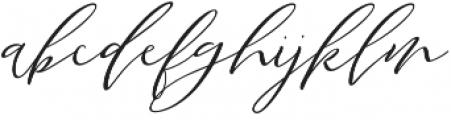 Santiago otf (400) Font LOWERCASE