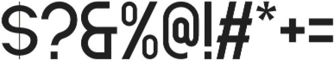 Santio otf (400) Font OTHER CHARS