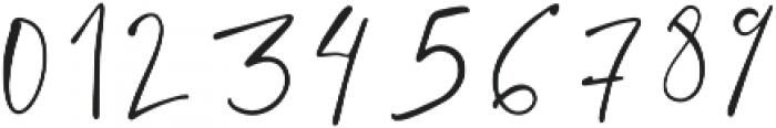 Santorini Regular otf (400) Font OTHER CHARS