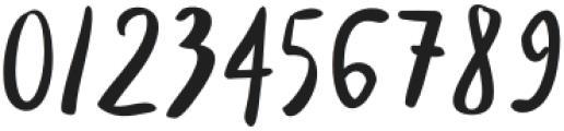 Santos Regular otf (400) Font OTHER CHARS