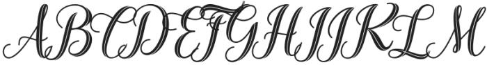 Sarahfadhilla otf (400) Font UPPERCASE