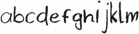 Sarayon otf (400) Font LOWERCASE