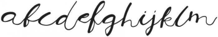 Sarebbebellissimo otf (400) Font LOWERCASE