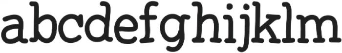 Sarifa ttf (400) Font LOWERCASE