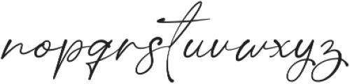 Saritha otf (400) Font LOWERCASE