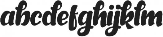 Sarllett otf (400) Font LOWERCASE