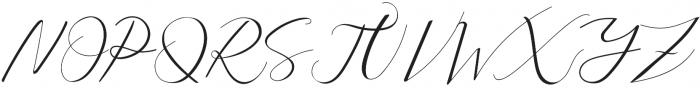 Sarodime Regular otf (400) Font UPPERCASE