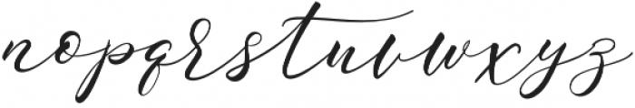 Sarodime Regular otf (400) Font LOWERCASE