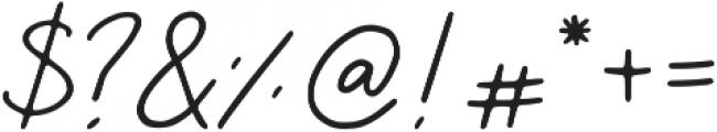 Saskia Regular ttf (400) Font OTHER CHARS