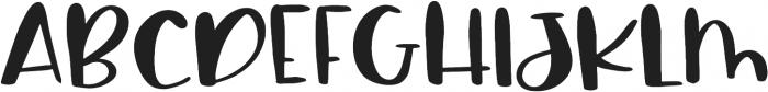 Sassy Regular otf (400) Font UPPERCASE