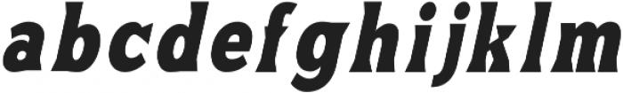 Satinface otf (400) Font LOWERCASE