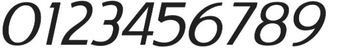 Satrio Extra Light Italic otf (200) Font OTHER CHARS
