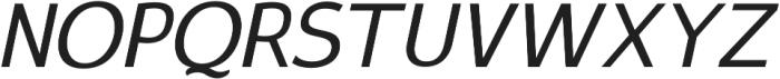 Satrio Extra Light Italic otf (200) Font UPPERCASE
