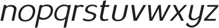 Satrio Extra Light Italic otf (200) Font LOWERCASE