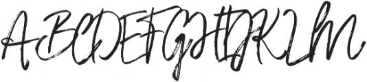 Saturday Lovin Regular otf (400) Font UPPERCASE
