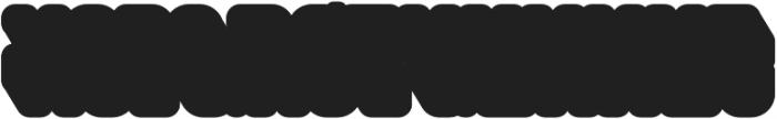Saturday Night Interlock otf (400) Font LOWERCASE