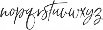 Saturday Script Oblique Alt1 otf (400) Font LOWERCASE