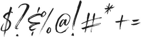 Saturday Script Oblique Alt2 otf (400) Font OTHER CHARS