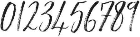 Saturday Script Oblique otf (400) Font OTHER CHARS