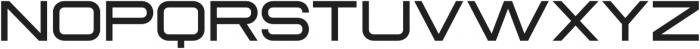 Sauro Extra Light otf (200) Font UPPERCASE