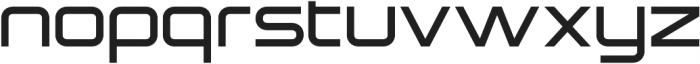 Sauro Extra Light otf (200) Font LOWERCASE