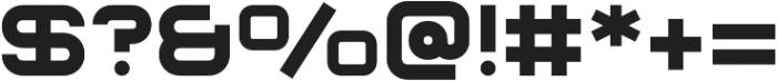 Sauro otf (700) Font OTHER CHARS