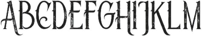 Savana Grunge otf (400) Font UPPERCASE